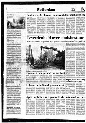 Rotterdamsch Nieuwsblad / Schiedamsche Courant / Rotterdams Dagblad / Waterweg / Algemeen Dagblad 1993-03-13