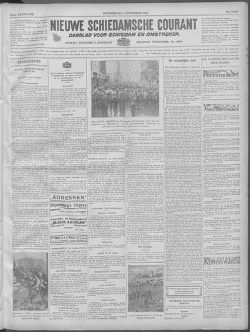 Nieuwe Schiedamsche Courant 1932-11-03