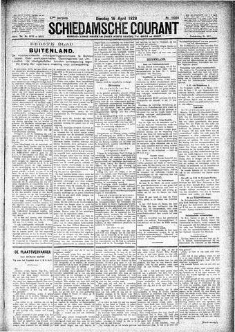 Schiedamsche Courant 1929-04-16