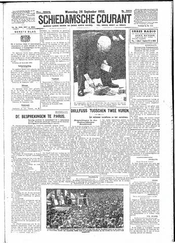 Schiedamsche Courant 1933-09-20