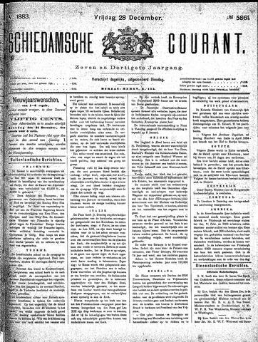 Schiedamsche Courant 1883-12-28