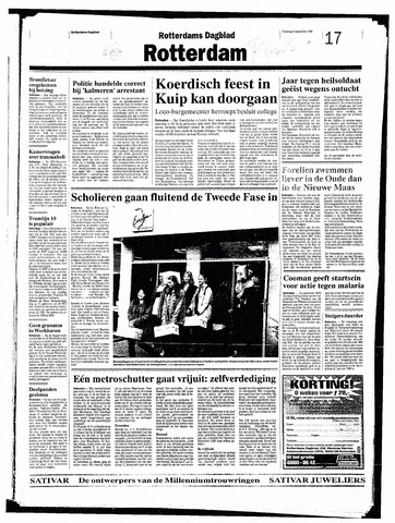 Rotterdamsch Nieuwsblad / Schiedamsche Courant / Rotterdams Dagblad / Waterweg / Algemeen Dagblad 1998-09-05