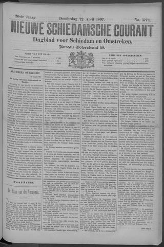 Nieuwe Schiedamsche Courant 1897-04-22