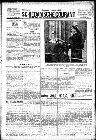 Schiedamsche Courant 1929-01-09