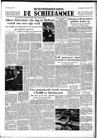 Rotterdamsch Parool / De Schiedammer 1949-09-15