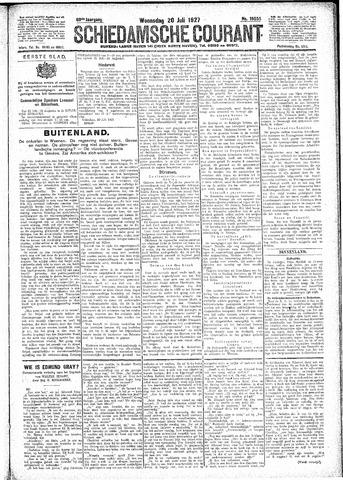 Schiedamsche Courant 1927-07-20