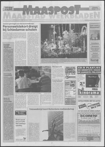 Maaspost / Maasstad / Maasstad Pers 1998-09-30
