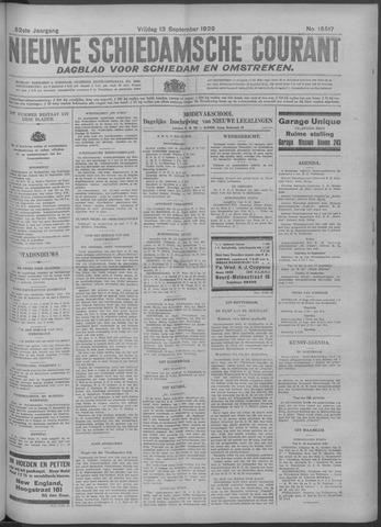 Nieuwe Schiedamsche Courant 1929-09-13