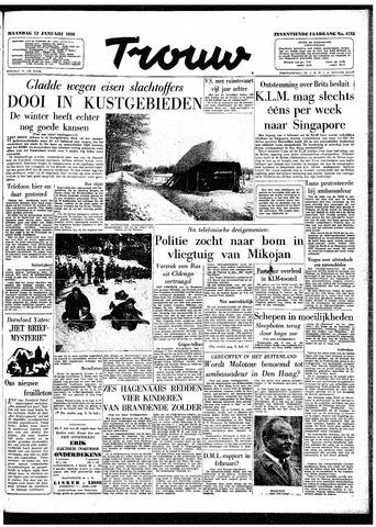 Trouw / De Rotterdammer 1959-01-12