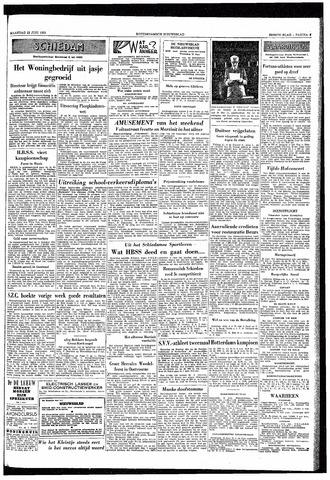 Rotterdamsch Nieuwsblad / Schiedamsche Courant / Rotterdams Dagblad / Waterweg / Algemeen Dagblad 1953-06-22