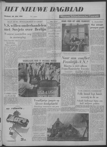 Nieuwe Schiedamsche Courant 1961-07-28