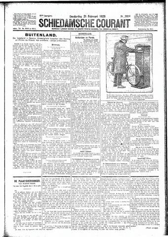 Schiedamsche Courant 1929-02-21