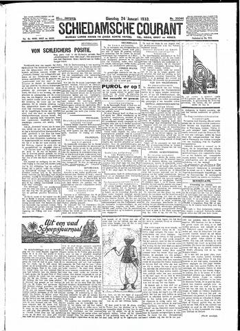 Schiedamsche Courant 1933-01-24