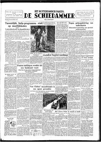 Rotterdamsch Parool / De Schiedammer 1947-11-25