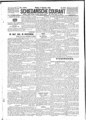 Schiedamsche Courant 1933-08-04