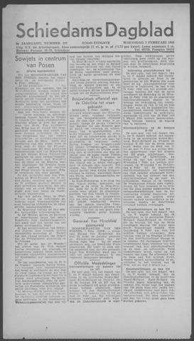 Schiedamsch Dagblad 1945-02-07