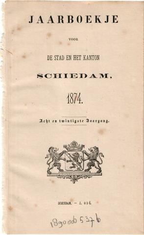 Schiedams Jaarboek 1874-01-01