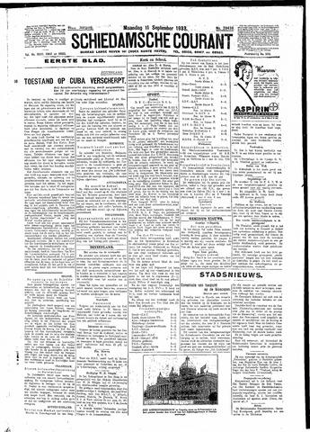 Schiedamsche Courant 1933-09-11
