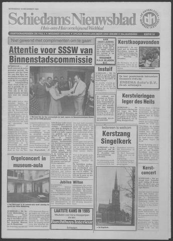 Schiedams Nieuwsblad 1985-12-18