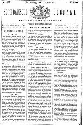 Schiedamsche Courant 1877-01-20
