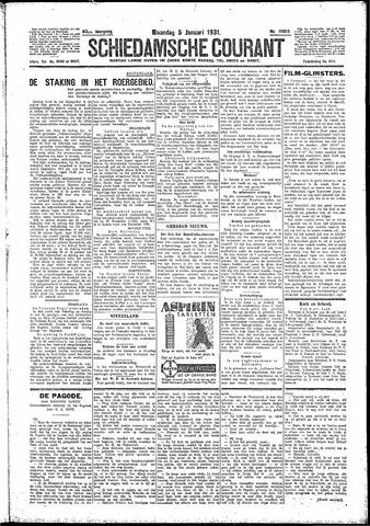 Schiedamsche Courant 1931-01-05