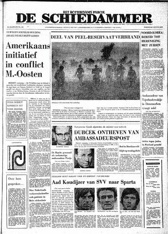 Rotterdamsch Parool / De Schiedammer 1970-06-24