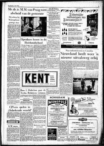 Rotterdamsch Parool / De Schiedammer 1961-06-01