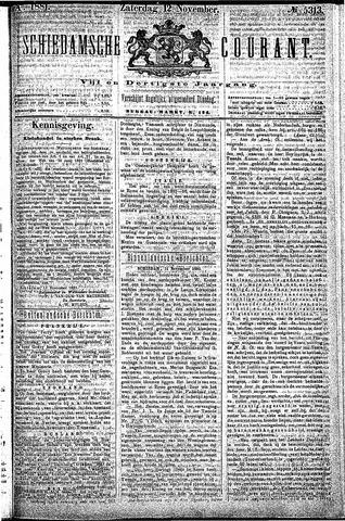 Schiedamsche Courant 1881-11-12
