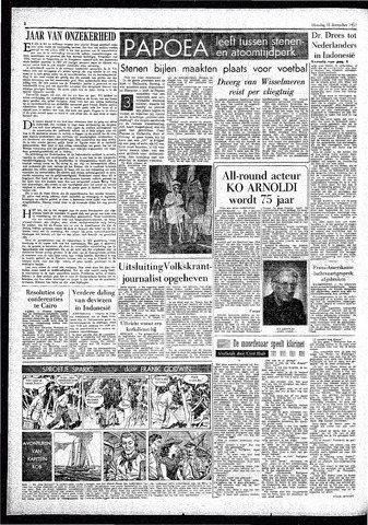 Rotterdamsch Parool / De Schiedammer 1957-12-31