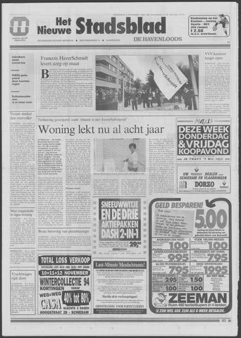Het Nieuwe Stadsblad 1994-11-09