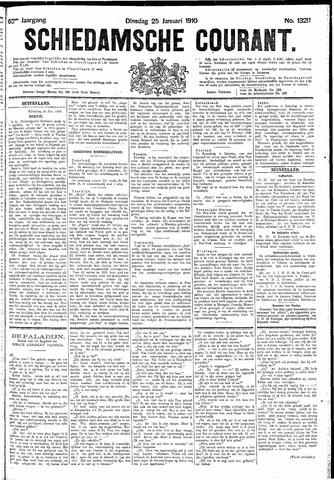 Schiedamsche Courant 1910-01-25