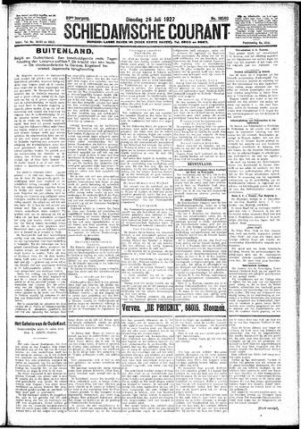 Schiedamsche Courant 1927-07-26