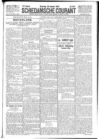 Schiedamsche Courant 1927-01-29