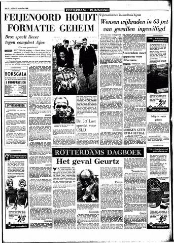 Rotterdamsch Parool / De Schiedammer 1966-11-11