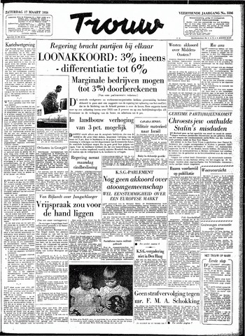 Trouw / De Rotterdammer 1956-03-17