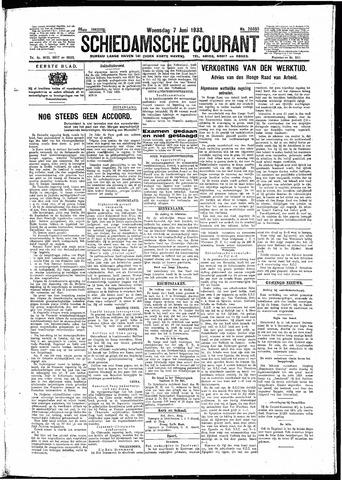 Schiedamsche Courant 1933-06-07