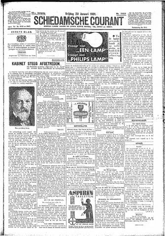 Schiedamsche Courant 1931-01-23