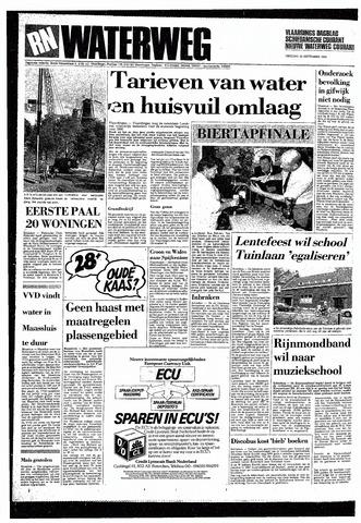 Rotterdamsch Nieuwsblad / Schiedamsche Courant / Rotterdams Dagblad / Waterweg / Algemeen Dagblad 1985-09-24