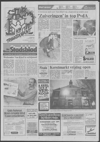 Het Nieuwe Stadsblad 1989-12-13