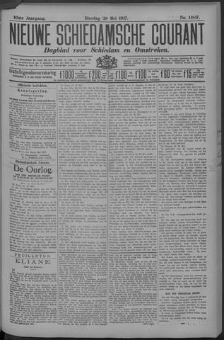 Nieuwe Schiedamsche Courant 1917-05-29