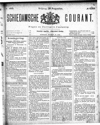 Schiedamsche Courant 1885-08-28