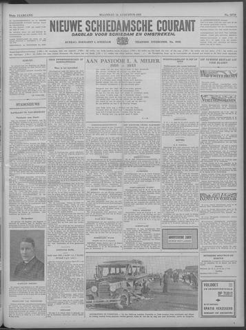 Nieuwe Schiedamsche Courant 1933-08-14