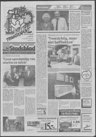 Het Nieuwe Stadsblad 1989-11-01