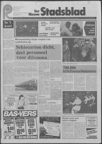 Het Nieuwe Stadsblad 1983-11-09