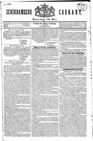 Schiedamsche Courant 1862-05-12