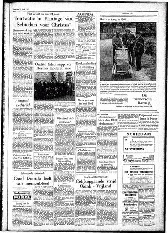 Rotterdamsch Parool / De Schiedammer 1961-06-10
