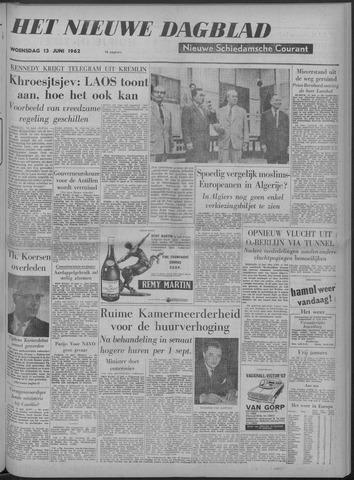 Nieuwe Schiedamsche Courant 1962-06-13