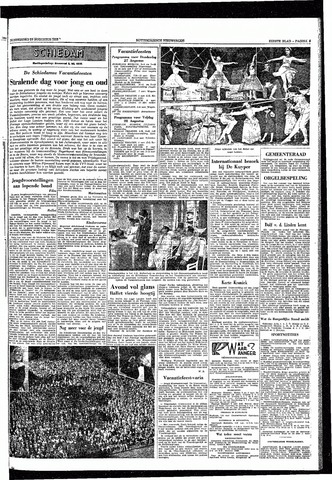 Rotterdamsch Nieuwsblad / Schiedamsche Courant / Rotterdams Dagblad / Waterweg / Algemeen Dagblad 1953-08-27