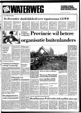 Rotterdamsch Nieuwsblad / Schiedamsche Courant / Rotterdams Dagblad / Waterweg / Algemeen Dagblad 1983-08-19