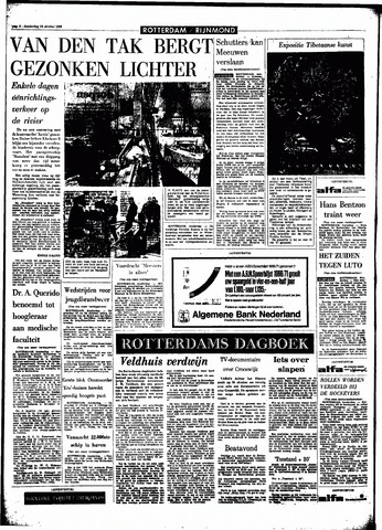 Rotterdamsch Parool / De Schiedammer 1966-10-13